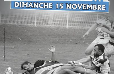 rugby Stade Montchaninois contre Dôle dimanche 15.11.2015