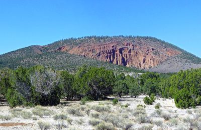 Red Mountain, an unusual cinder cone.
