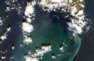 Le volcan Tagoro dans les Canaries