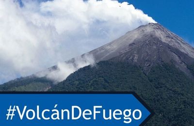 Activity of Fuego and Popocatépetl.