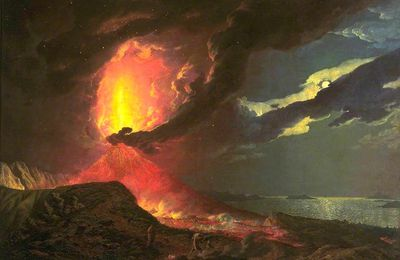 L'art sur les chemins du feu : Wright de Derby et le Vésuve.