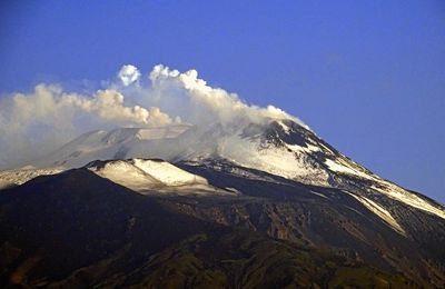 News of Etna, Stromboli, Popocatépetl, and La Fournaise.