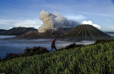 The Kasada 2017 at the Gunung Bromo.