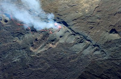 Activity of La Fournaise, Poas and Sabancaya.