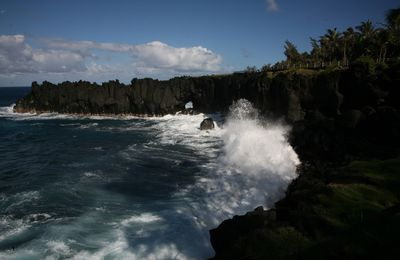 La Réunion-12: The Cap Méchant and Ravine Langevin.