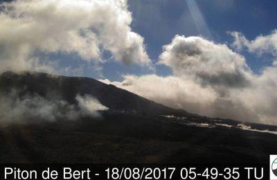 Activité de La Fournaise, du Nevados de Chillan et du Kanlaon.