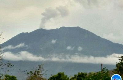News of Agung, Sinabung, Sarychev, and Erta Ale.