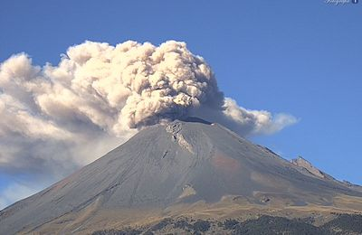 Activity of Popocatépetl, Agung, Sinabung and Pacaya