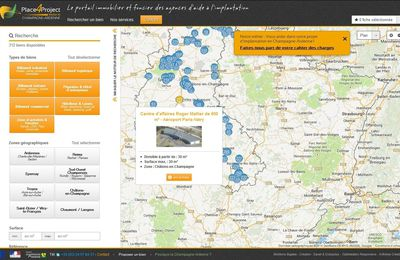 Place4Project, l'outil web immobilier Made in Champagne-Ardenne