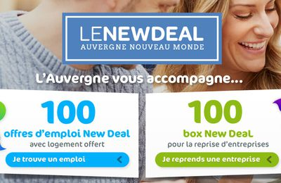 Le New Deal de l'Auvergne - Saison 3