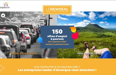 New Deal 2017 de l'Auvergne : c'est parti !