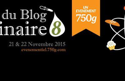 Salon du Blog Culinaire #8...21/22 Novembre 2015 J'y serais!
