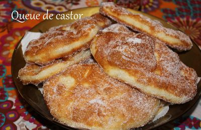 Queue de castor(Beignet canadien)