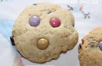 Cookies aux Smarties...