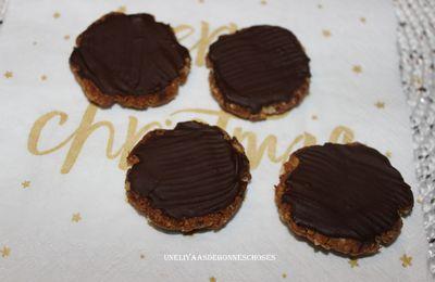 Palets aux dattes et au chocolat pour une Escapade en Cuisine...