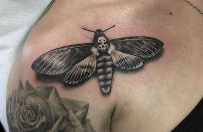 Tatouage Papillon 3D