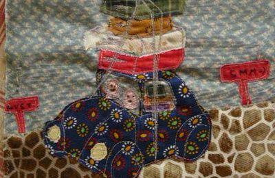 Septembre : page journal textile