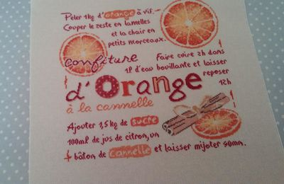 SAL LLP confiture d'orange.....12 et fin