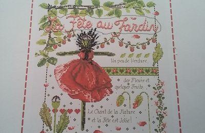 Mme la Fée la fête au jardin....5