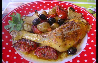 cuisses de poulet façon provençale