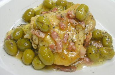 poulet aux olives saint Patrick