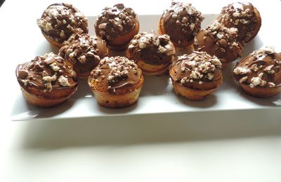 Cupcakes Nutella Schokobons