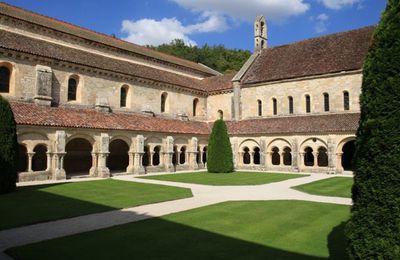 De Montbard à l'abbaye de Fontenay par le GR 213