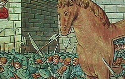 La Hidja ( immigration ) ou le cheval de Troie, et l'immigration.