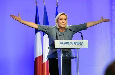 Le temps est beau pour Marine Le Pen.