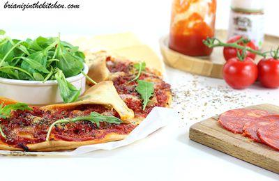 Pizza Soleil Tomates, Chorizo & Mozzarella