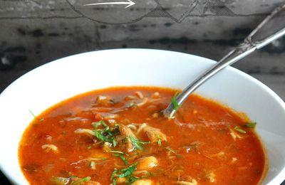 Harira, soupe marocaine à ma façon