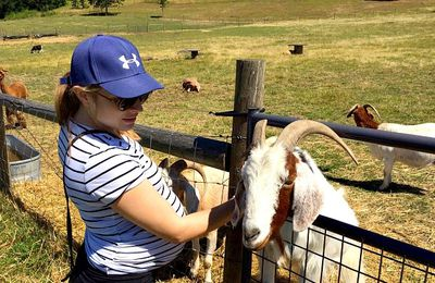 Alexie aux USA... (46) Une ferme dans l'Oregon