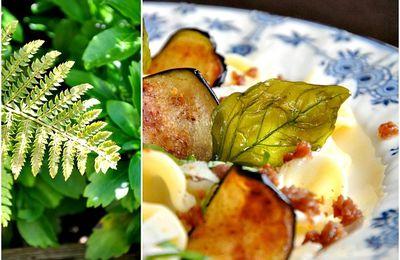 Orecchiette à la saucisse et à l'aubergine