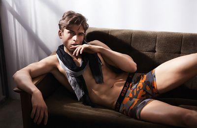 Luc van Geffen pour Replay Underwear