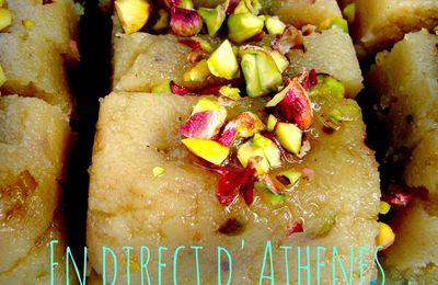 BUFFET : Halvas aux pistaches