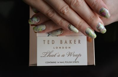 Review - Nail Patch Ted Baker