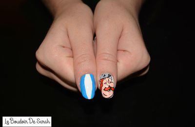 15 Jours/15 Nail Art - Jour 11: Astérix et Obélix