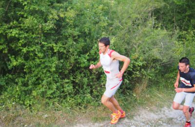 Damien : cross du pain, version trail ( 15km )
