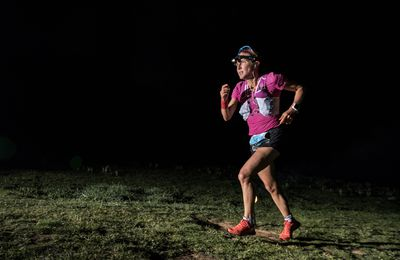 23 juin The North Face Lavaredo Ultra Trail Caroline Chaverot au départ