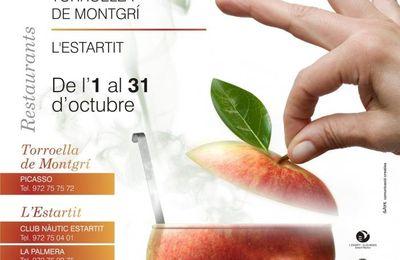 """Torroella de Montgri, Jornades gastronòmiques """"La poma a la cuina"""""""