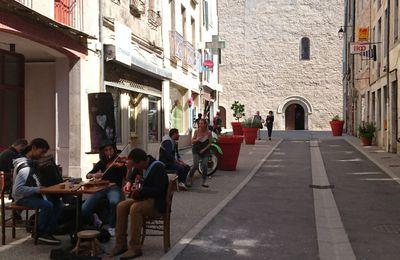De la Drôme à la Gervanne, par un temps estival.