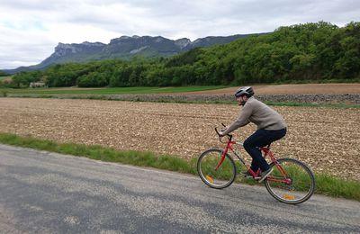 Val de Drôme, avec Axel