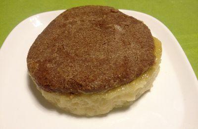 Délice de mousse de pomme, coeur crème caramel au beurre salé