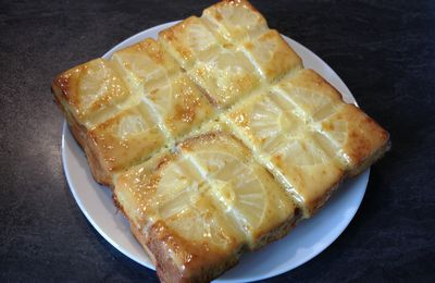 Cake croque passion ananas