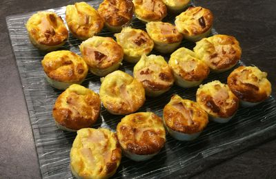Croque quiche camembert et poulet