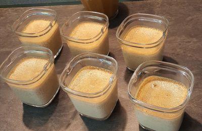 Petites crème à la pâte à tartiner d'Alex Olivier
