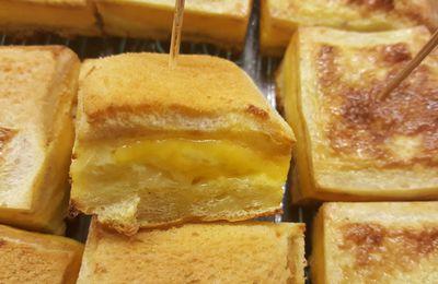 Cake croque Cheddar