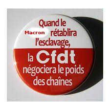 Unité syndicale avec la CFDT, mauvaise idée !