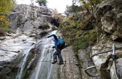 Via ferrata de Bellevaux.