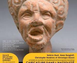 """""""Caricature et laideur dans l'Antiquité grecque et romaine"""", colloque à Brest (17 et 18 novembre 2016"""
